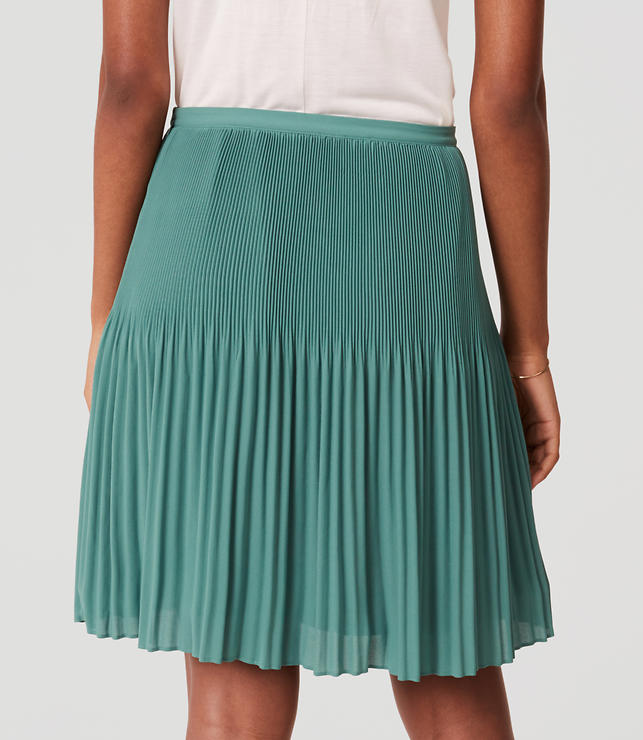 Fluid Pleated Skirt | LOFT