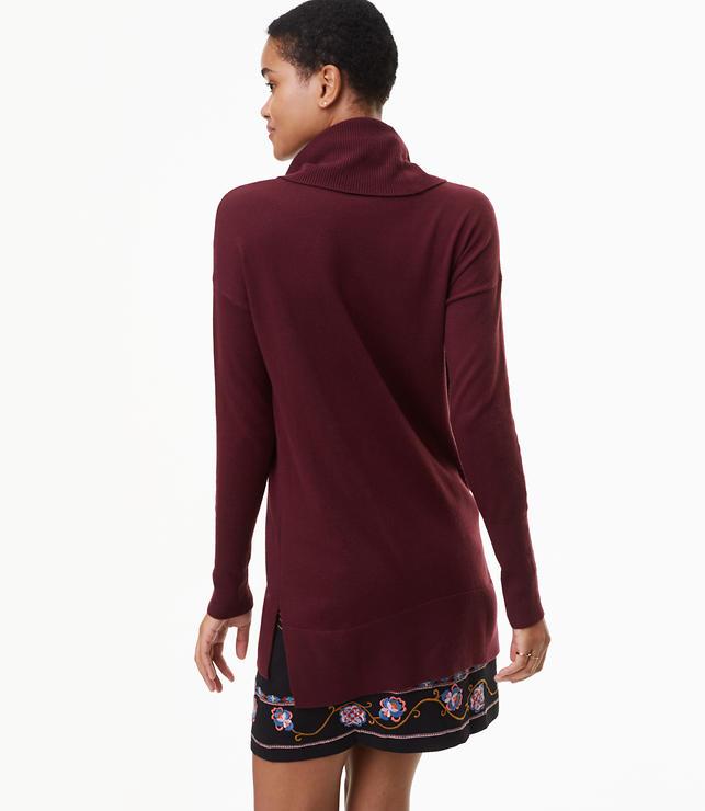 Cowlneck Tunic Sweater | LOFT