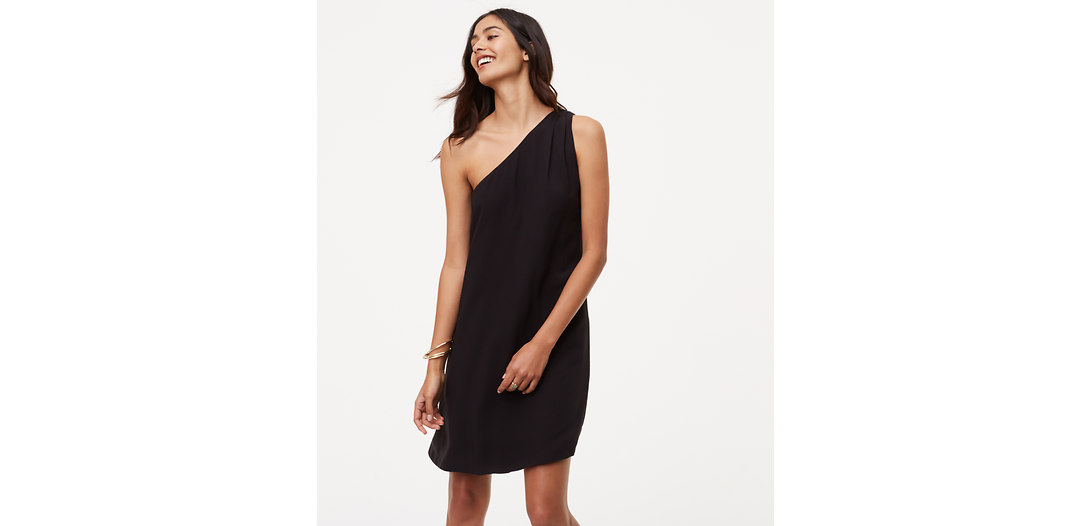 LOFT One Shoulder Dress
