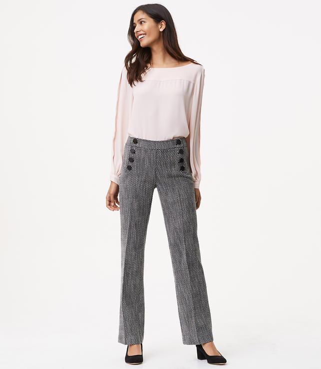Trousers in Sailor Tweed