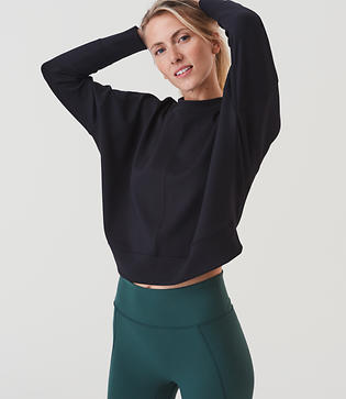 Lou & Grey FORM Anytrack Sweatshirt - Anytime