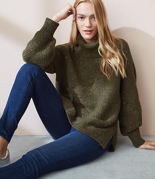 Lou & Grey Rainbow Chip Sweater