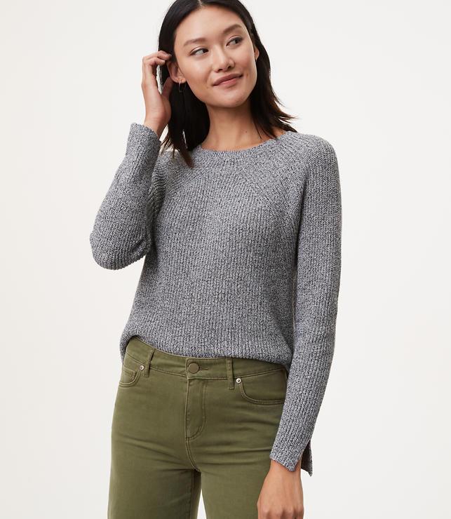 Slit Sleeve Sweater
