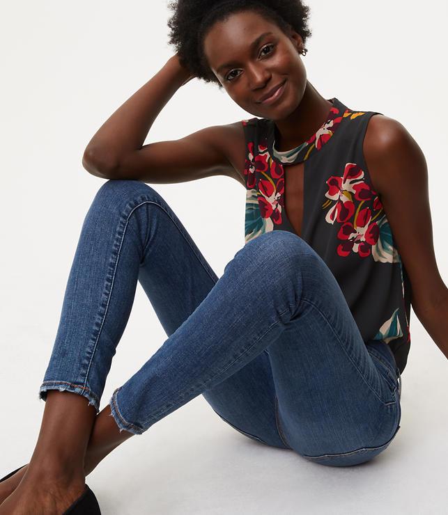 Petite Modern Skinny Jeans in Classic Mid Indigo Wash