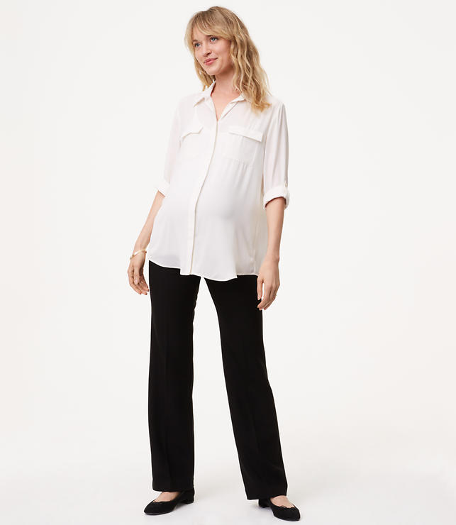 Petite Maternity Trousers