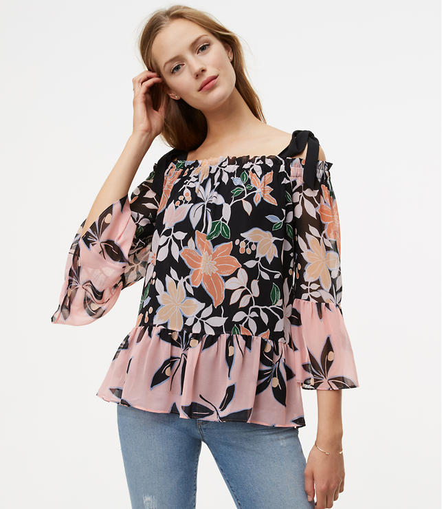 Wild Orchid Off The Shoulder Blouse