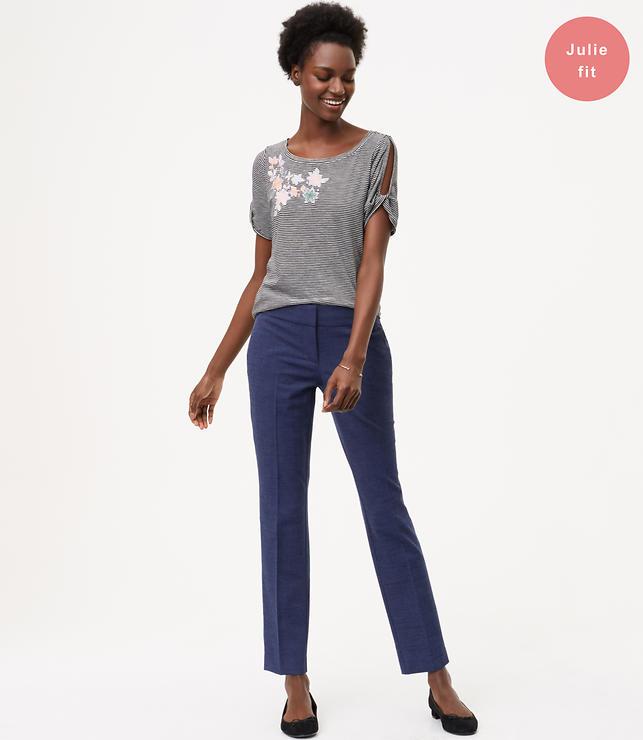 Petite Slim Custom Stretch Pants in Julie Fit