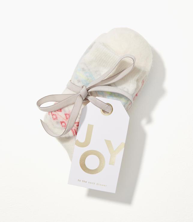 Fairisle & Stripe Crew Sock Gift Set