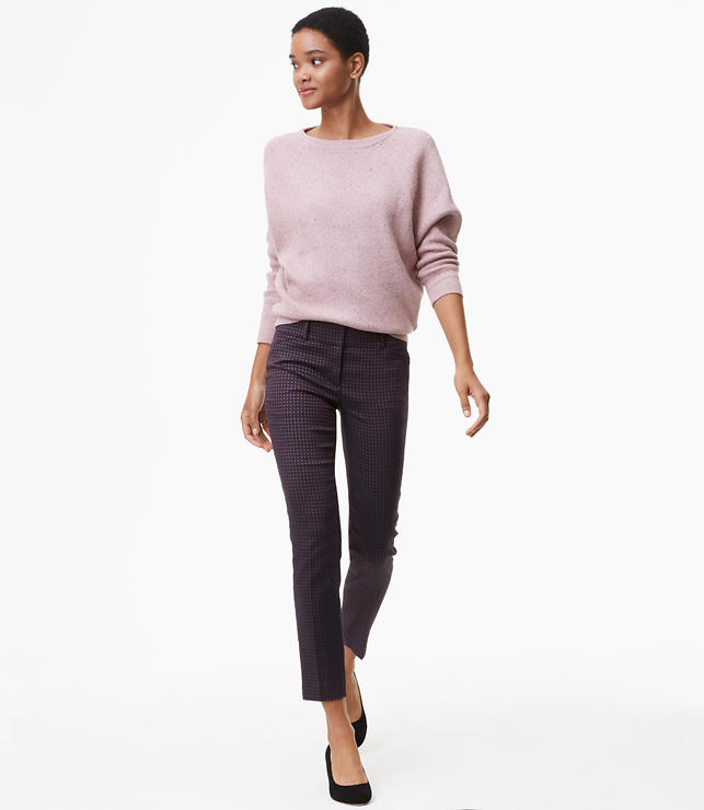 Skinny Petaled Ankle Pants in Marisa Fit