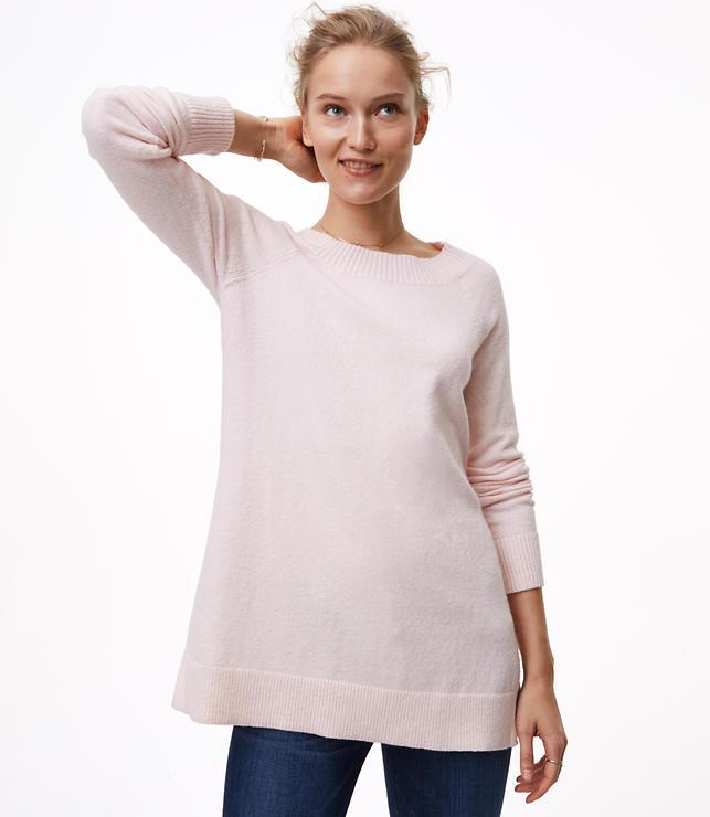 Boatneck Tunic Sweater