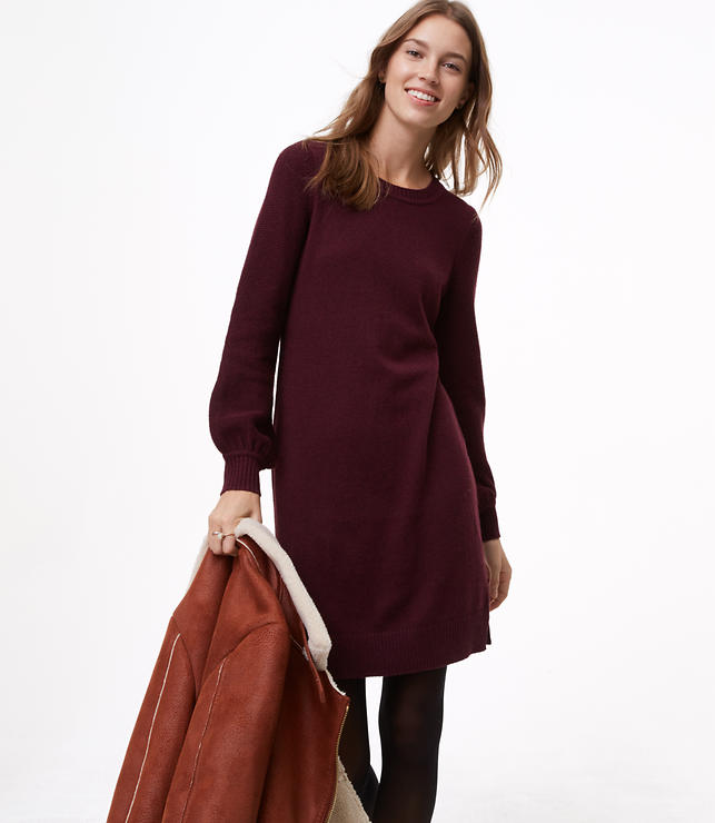 Sweater Blouse Dress