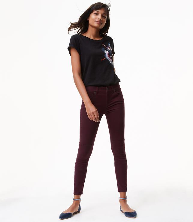 Leggings in Back Zip Sateen Five Pocket in Marisa Fit