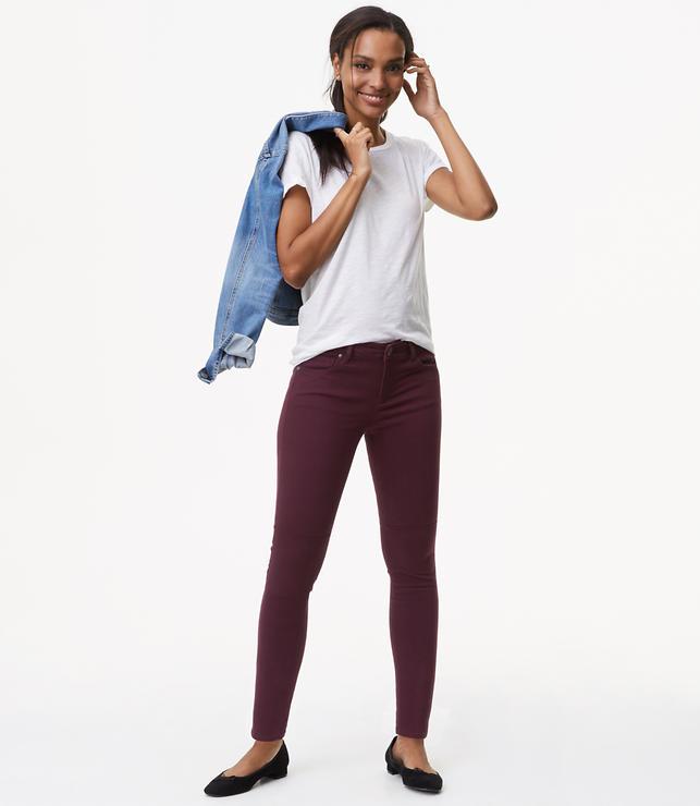 Leggings in Back Zip Sateen Five Pocket in Julie Fit