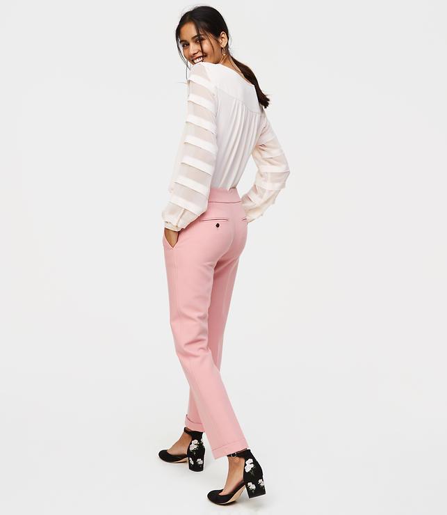 Slim Cuffed Pants in Marisa Fit