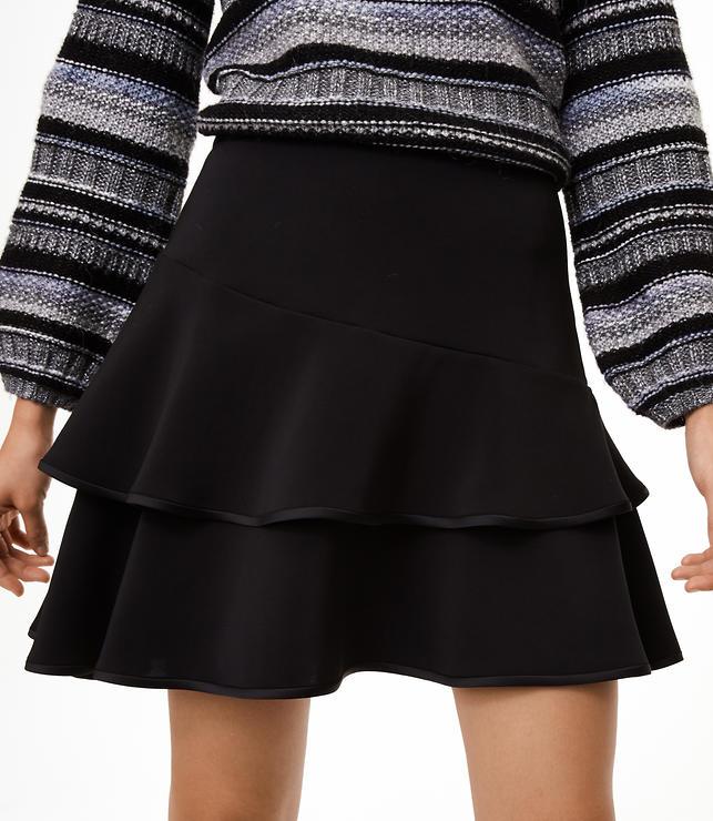 Tiered Flounce Skirt
