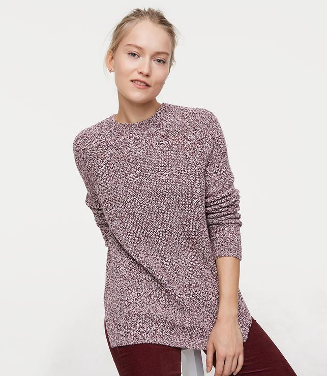 Modern Mock Neck Sweater