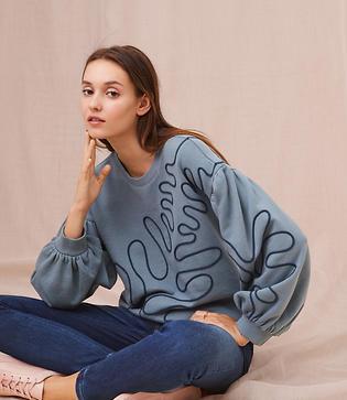 Lou & Grey Squiggle Sweatshirt