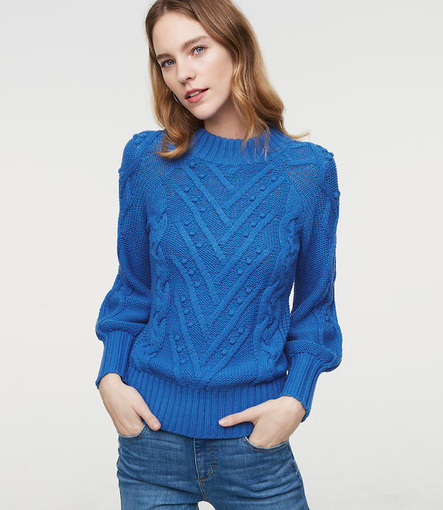 Stitchy Cable Sweater