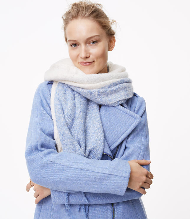 Winter Sky Blanket Scarf