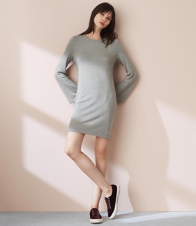 Lou & Grey Signaturesoft Bell Sleeve Dress