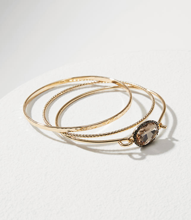Sparkle Bangle Bracelet Set