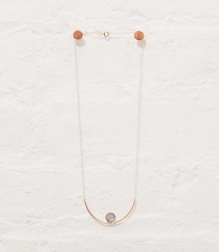 Image of Mineralogy Druzy Necklace