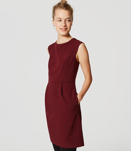 Image of Textured Sheath Dress