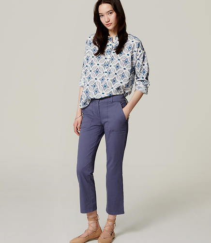 Image of Kick Crop Utility Pants in Marisa Fit