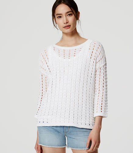 Image of Open Stitch Sweater
