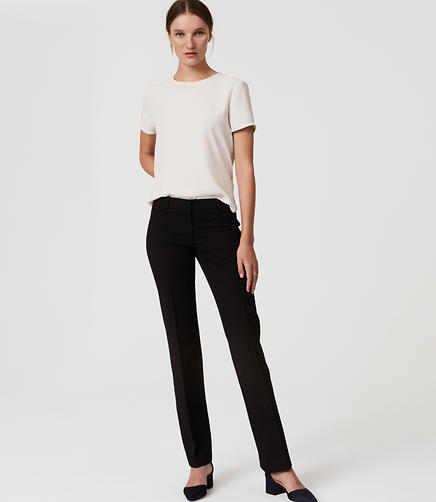 Image of LOFT Trousers in Marisa Fit with 31 Inch Inseam