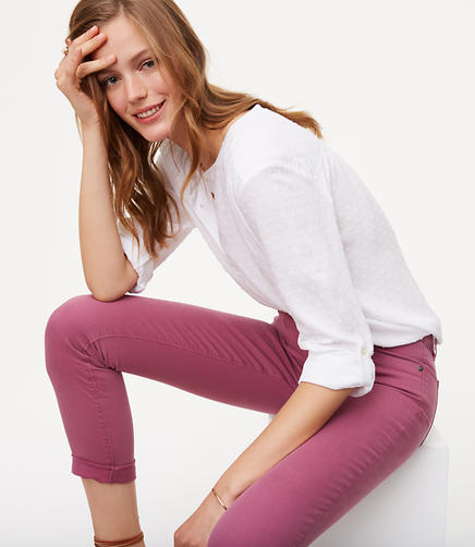 Image of Modern Skinny Crop Jeans