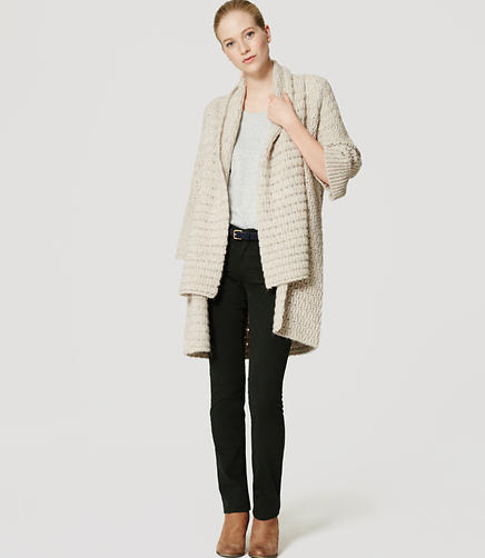 Image of Textured Shawl Cardigan