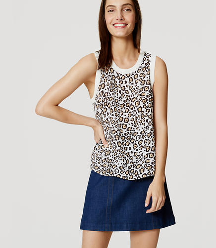 Image of Spotted Sweater Tank