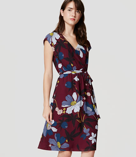 Image of Floral Wrap Dress
