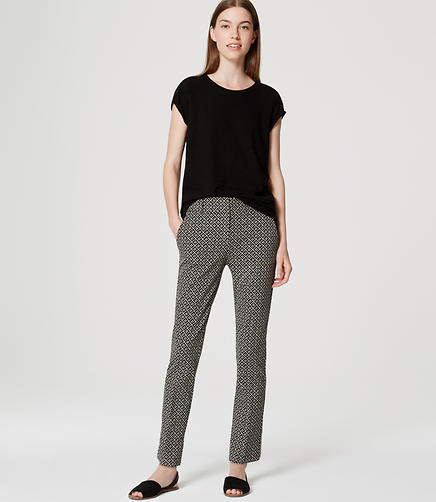 Image of Tiled Essential Skinny Ankle Pants in Marisa Fit