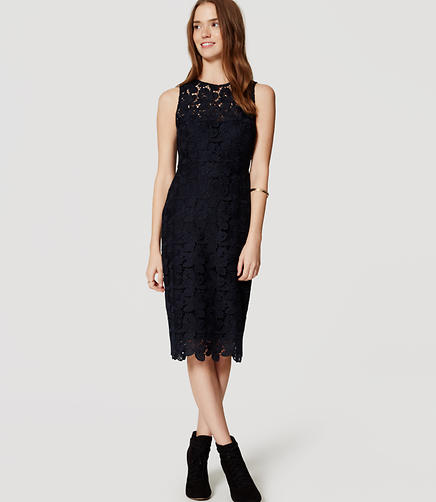 Image of Lace Sheath Dress
