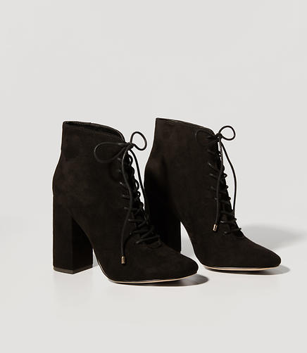 Image of Lace Up Booties