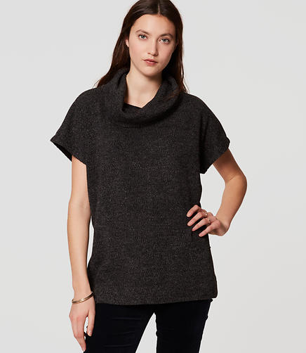 Image of Knit Cowlneck Top