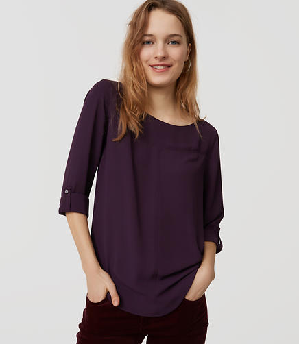 Image of Seamed Blouse