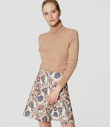 Image of Garden Flippy Skirt