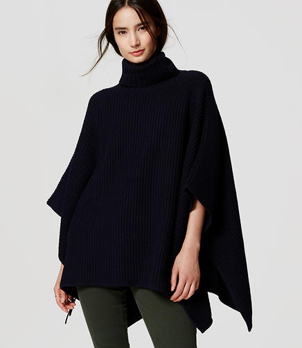 Image of Side Tie Poncho