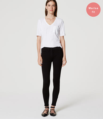 Image of Ponte Five Pocket Leggings in Marisa Fit