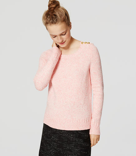 Image of Shoulder Button Sweater