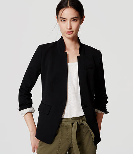 Image of Petite Notched Blazer