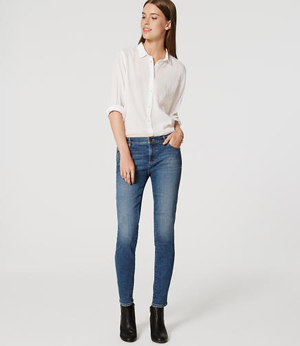 Image of Modern Skinny Jeans in Authentic Mid Indigo Wash