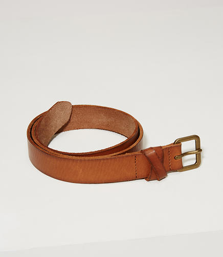 Image of Crossover Leather Belt