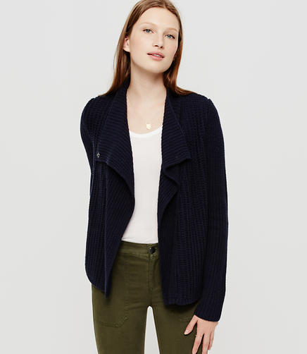 Image of Lou & Grey Moto Sweater Jacket