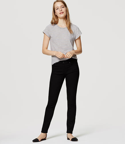 Image of Petite Modern Skinny Jeans in Black