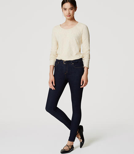 Image of Petite Denim Leggings in Rinse Wash
