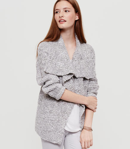 Image of Lou & Grey Foldover Open Cardigan